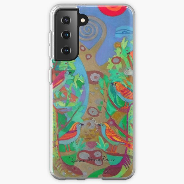 Two Trees and Fig Leaves in the Garden of Desire Samsung Galaxy Soft Case