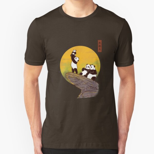 The Panda King Slim Fit T-Shirt