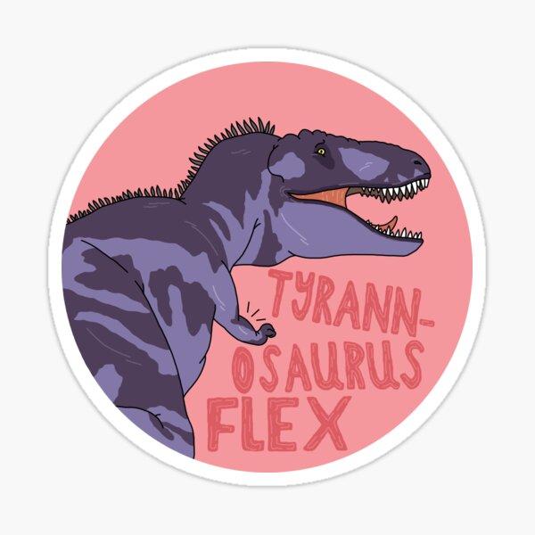T-Rex Flex Sticker
