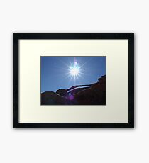Geological Miracle Framed Print