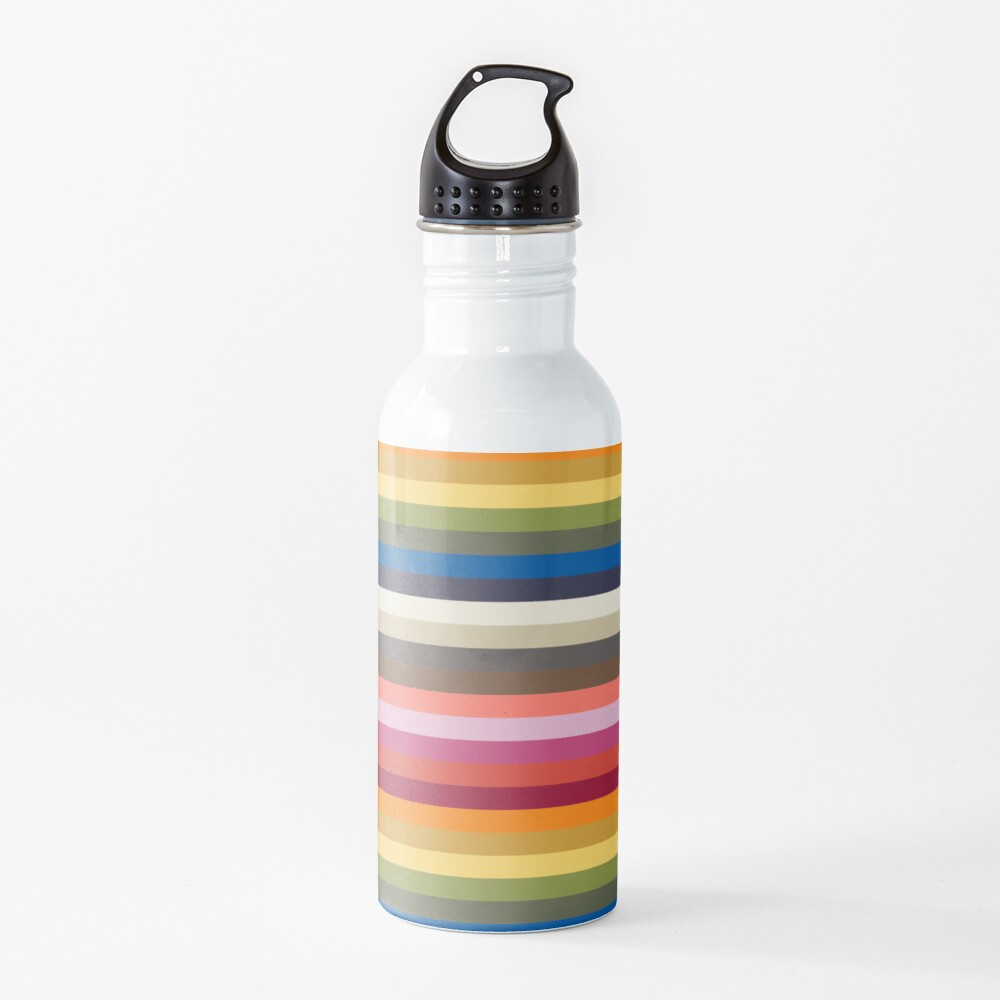 Stripes | Pantone | Color Trends | Spring Summer 2019 2020 | New York | Stripe Patterns | Striped Patterns | Fashion Colors | Water Bottle