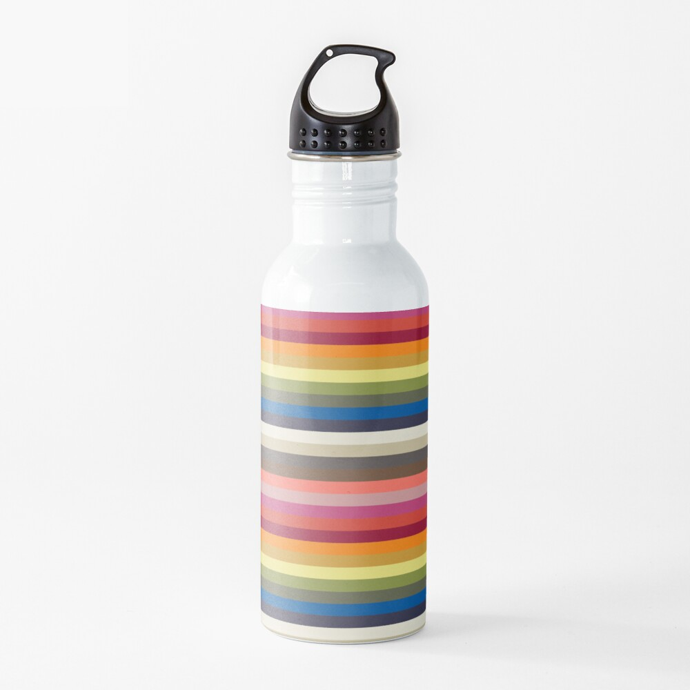 Stripes | Pantone | Color Trends | Spring Summer 2019 2020 | London | Stripe Patterns | Striped Patterns | Fashion Colors | Water Bottle