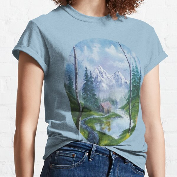 Mountain's Cabin (Eclipse) by Roger Michael Classic T-Shirt