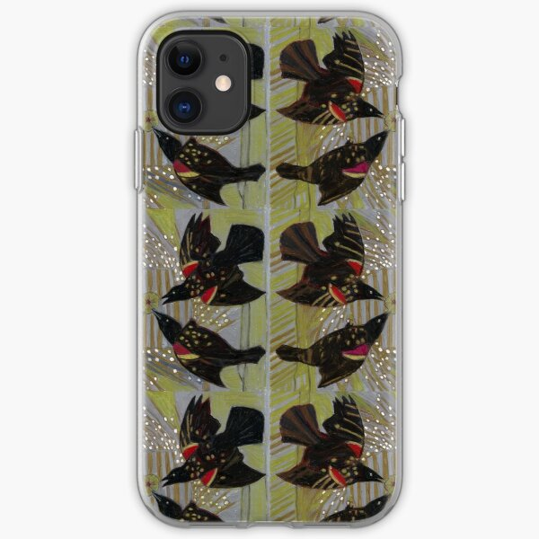 Four Calling Birds iPhone Soft Case