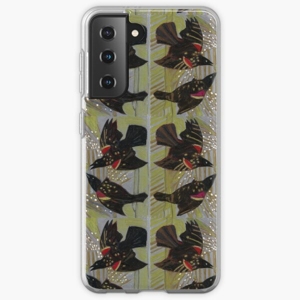 Four Calling Birds Samsung Galaxy Soft Case