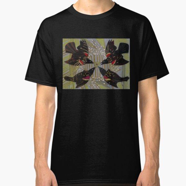 Four Calling Birds Classic T-Shirt