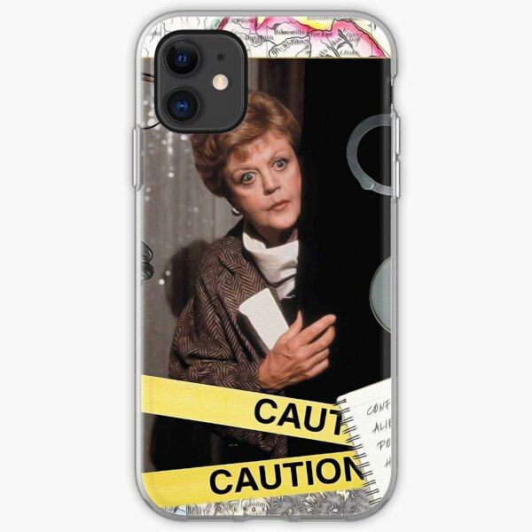 Jessica Fletcher iPhone Soft Case