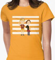 Juno Tailliertes T-Shirt