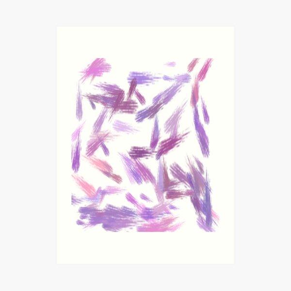 purplish Art Print