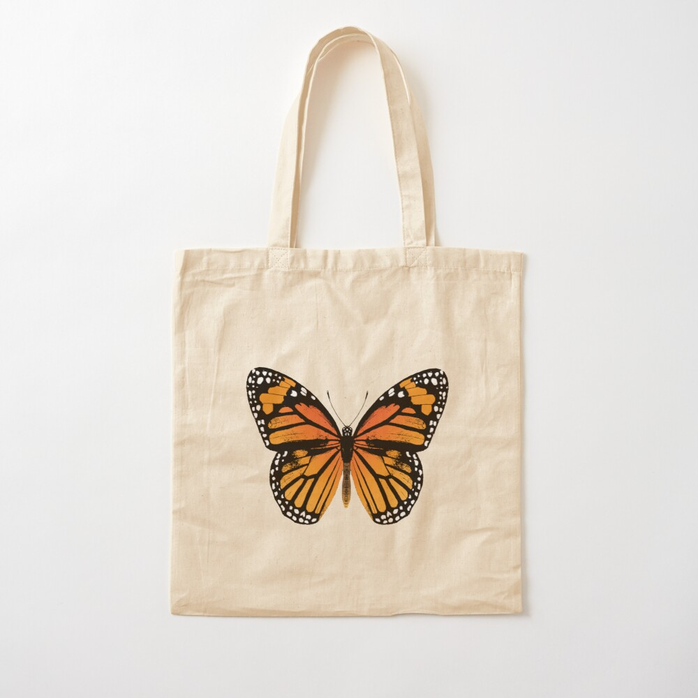 Monarch Butterfly   Vintage Butterflies    Cotton Tote Bag