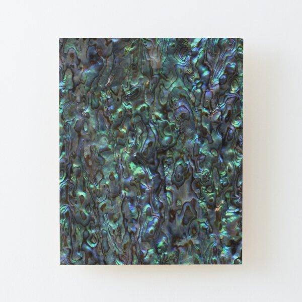 Abalone Shell | Paua Shell | Seashell Patterns | Sea Shells | Natural |  Wood Mounted Print
