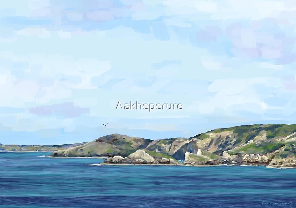 Newgale Coast, Pembrokeshire by Aakheperure