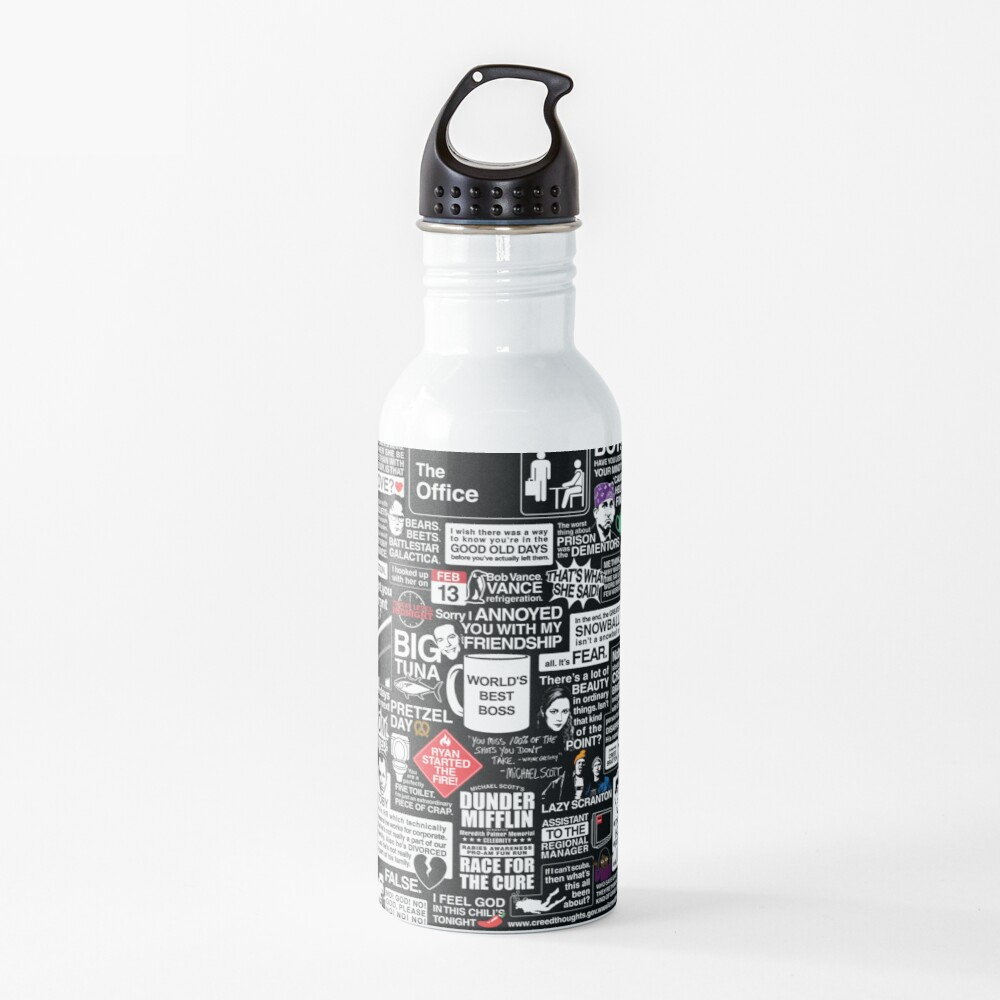 Wise Words From The Office - The Office Quotes Water Bottle