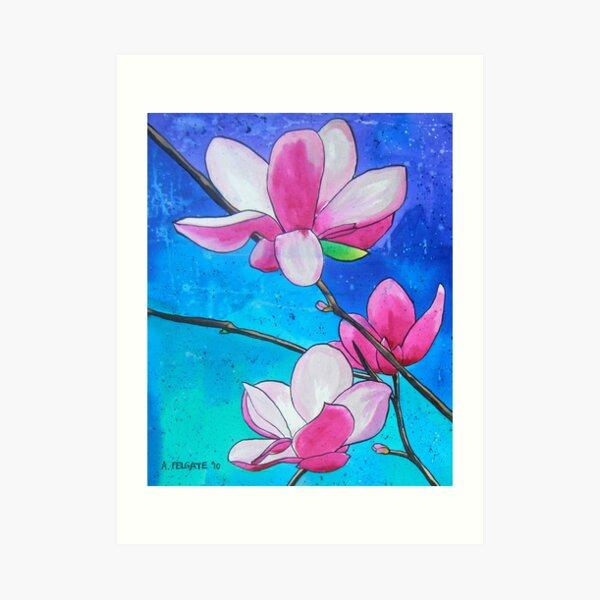 Magnolias XXI Art Print