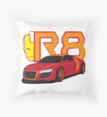 Iron Audi R8 Throw Pillow