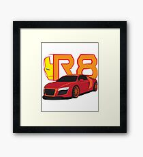 Iron Audi R8 Framed Print