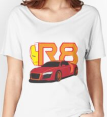 Iron Audi R8 Relaxed Fit T-Shirt