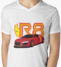 Iron Audi R8 V-Neck T-Shirt