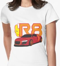 Iron Audi R8 Fitted T-Shirt