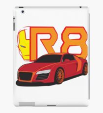 Iron Audi R8 iPad Case/Skin