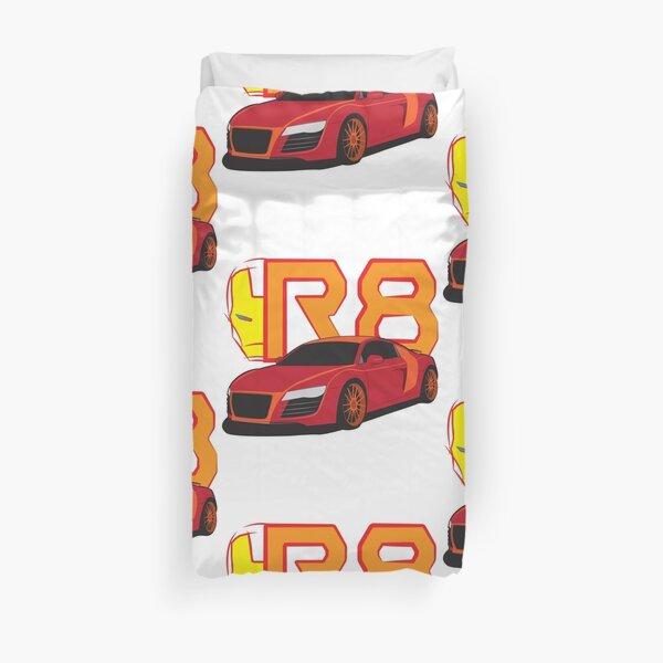 Iron Audi R8 Duvet Cover