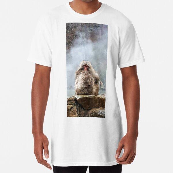 Japanese snow monkey Long T-Shirt