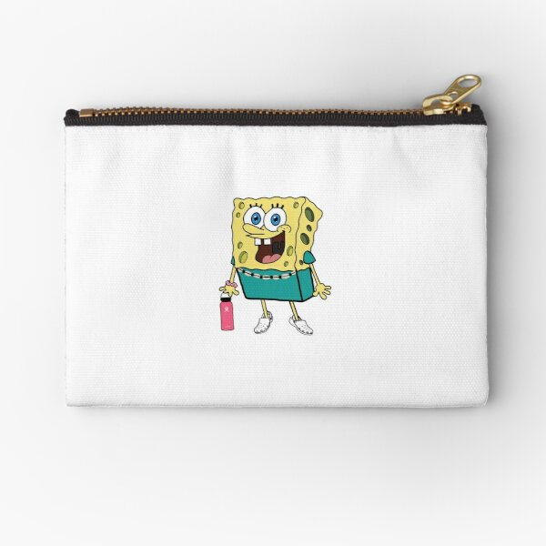 Vsco Girl Spongebob Zipper Pouch