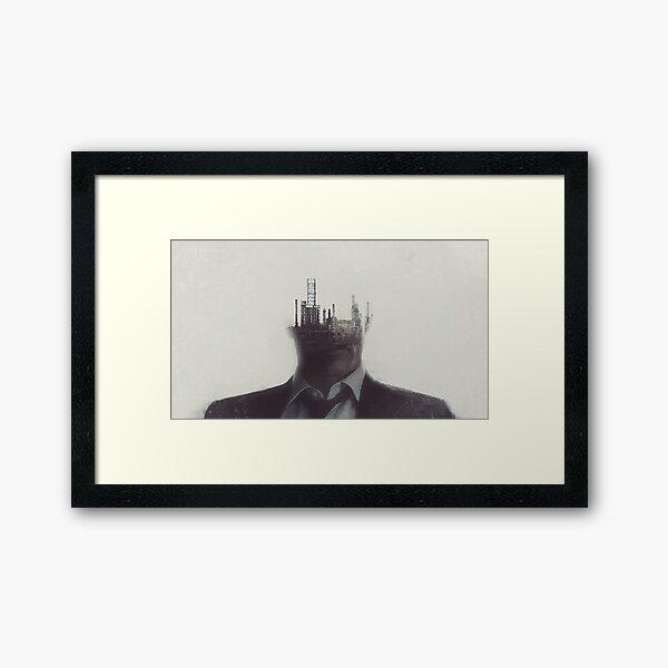True Detective I 4 Framed Art Print