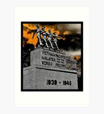 War memorial!  Art Print
