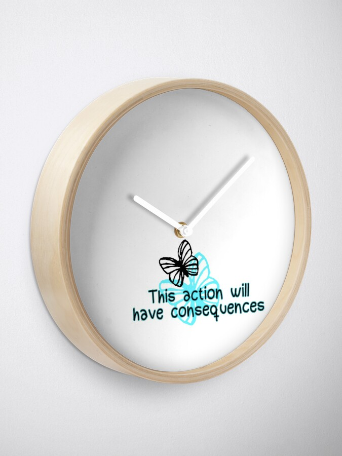 Alternate view of Life is Strange - consequences Clock