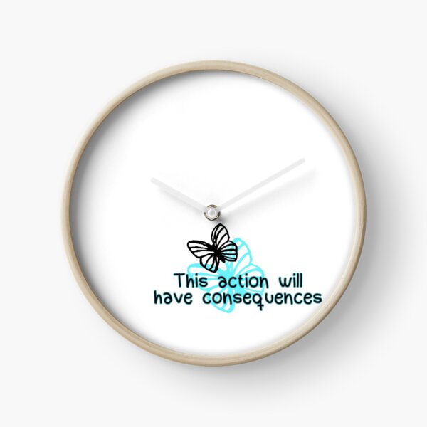 Life is Strange - consequences Clock
