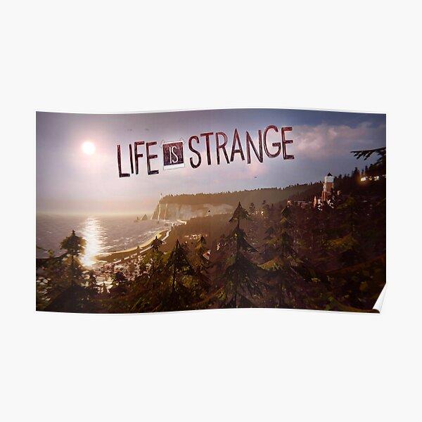 La vie est étrange I Poster