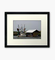 Shrimper At Rest Framed Print