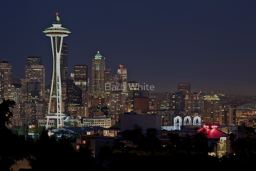 Twilight in the City by Barb White