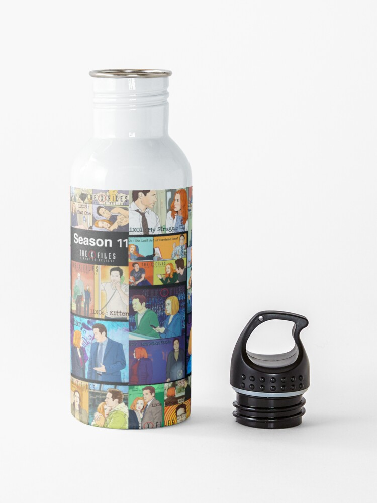 Alternate view of The X files season 11 all the episodes ( more 70 designs XFiles in my shop) Water Bottle