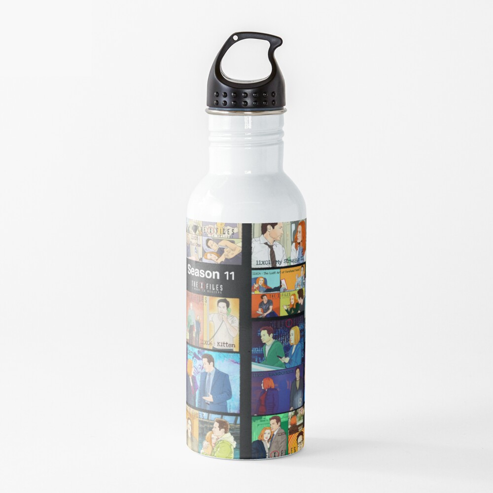 The X files season 11 all the episodes ( more 70 designs XFiles in my shop) Water Bottle