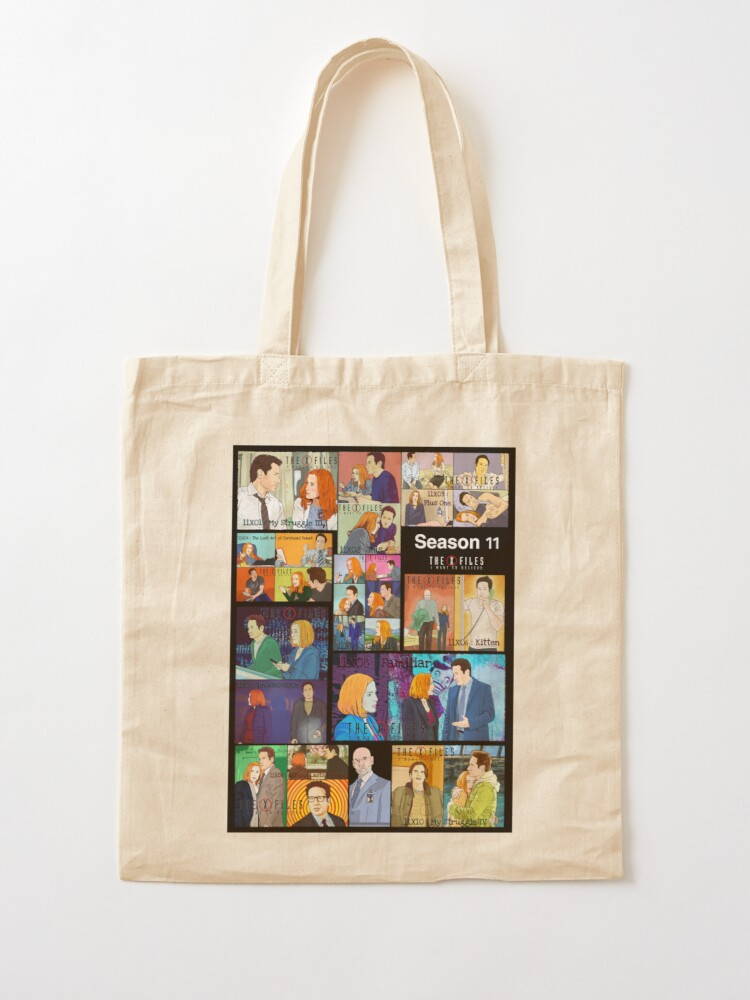 Alternate view of The X files season 11 all the episodes ( more 70 designs XFiles in my shop) Tote Bag