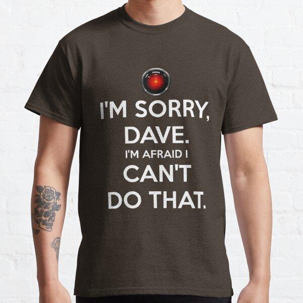 HAL. Me lis-tu T-shirt classique