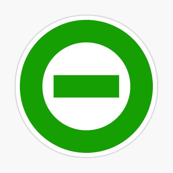 Type O Negative (Green) Sticker