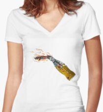 molitov Women's Fitted V-Neck T-Shirt