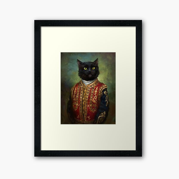 Hermitage Court Moor in casual uniform  Framed Art Print