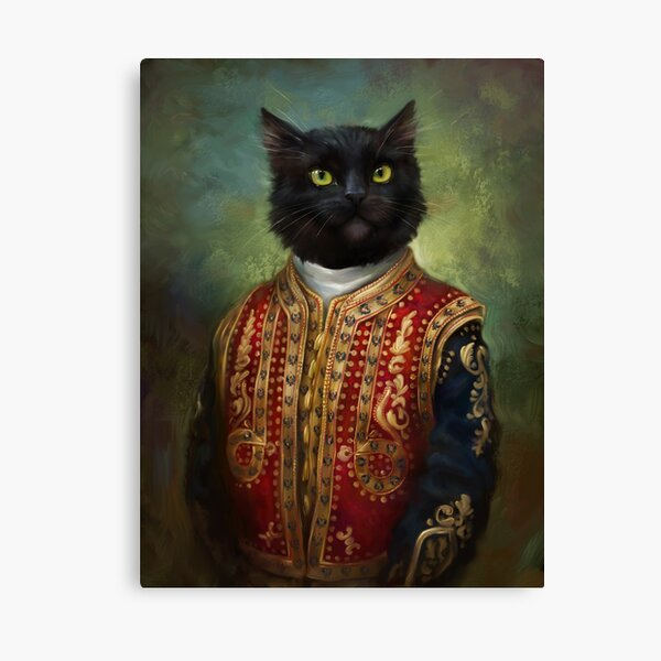 Hermitage Court Moor in casual uniform  Canvas Print