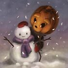 Christmas - Snowy Friend (Forever Halloween Collection) by Murielle Evers