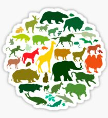 Animals Sticker