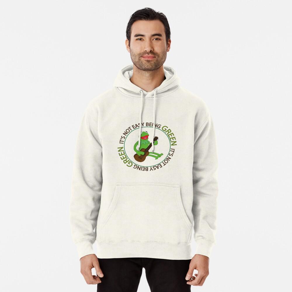Es ist nicht einfach, grün zu sein Hoodie