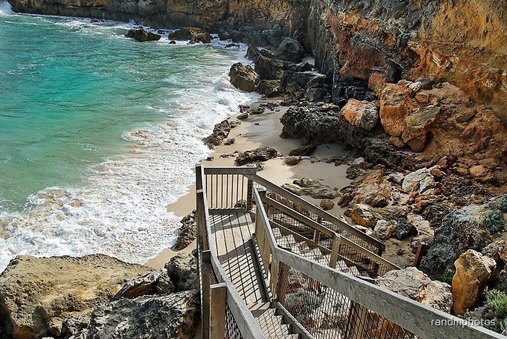 Steps, Blairgowrie Back Beach by randmphotos