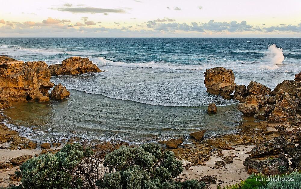 Afternoon Wave Break, Blairgowrie by randmphotos