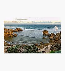 Afternoon Wave Break, Blairgowrie Photographic Print