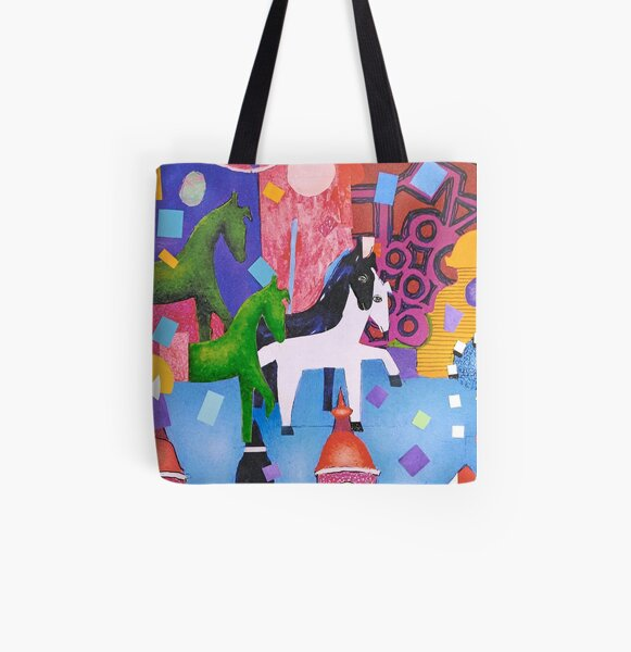 Weingarten Allover-Print Tote Bag