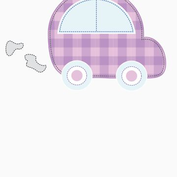 Kids Craft Car Tee by perkie173
